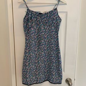 Hana Floral Spaghetti Strap Dress